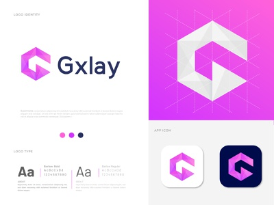 Gxlay (G+Play icon) Latter Logo Design Concept branding design g mark media logo media player g letter g modern logotype logo mark logo designer letter logo letter design gradient designer creative logo concept branding app icon abstract art abstract