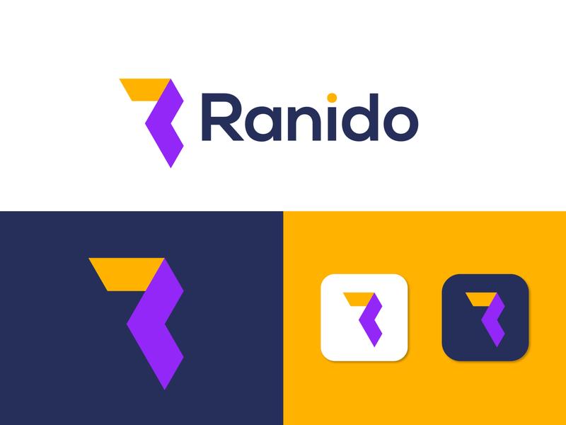 Branding logo design for Ranido r letter r logo marketing logo marks logotype modern logo agency branding design logo designer brand identity logo mark letter design designer creative logo concept branding app icon abstract design abstract art abstract