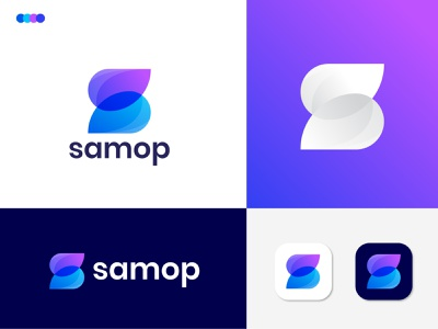 modern S letter logo design for samop minimal s mark s logo s letter logo modern logo logotype logo mark logodesigns logodesign letter logo lettering logo identity business branding design branding agency branding brand and identity app logo app icon agency