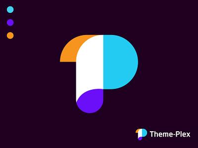 Modern Theme Plex Logo Design logo animation p logo t p logotype agency app gradient branding design brand identity branding agency branding logo logo design branding logo designer logo mark abstract logo colorful logo modern logo modern