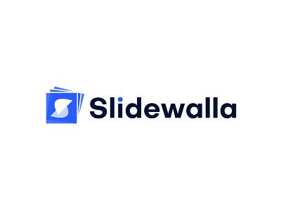 Modern Logo Design for Slidewalla app brand identity branding agency colorful logo creative logo flat logo identity designer illustration letter logo logo designer logotype minimal logo modern logo s s icon s letter logo s logo s logo mark symbol logo