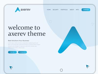 Axerev Branding Logo