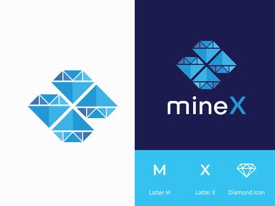MineX Branding Logo