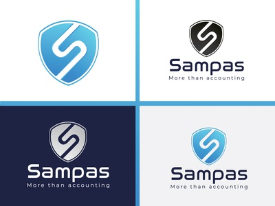 sampas branding logo