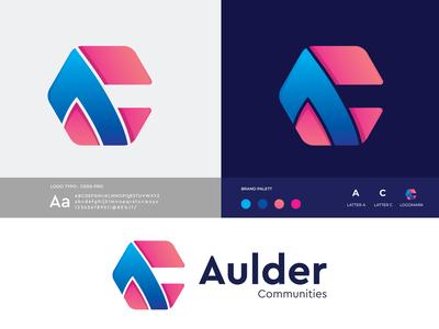 Aulder (a+c) Branding Logo Design