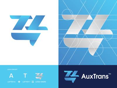 AuxTrans (a+t) Logo Design