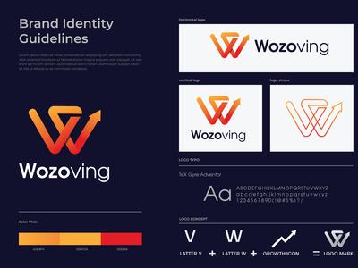 Wozoving Branding Logo