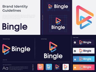 Bingle Branding Logo Design