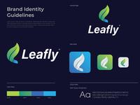 Leafly branding Logo