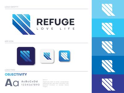 Refuge Branding Logo