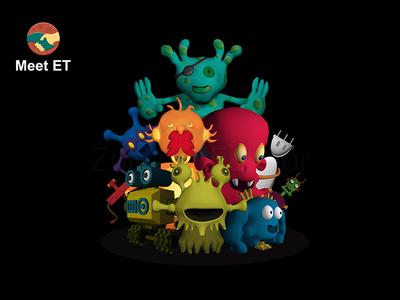 Meet ET | 3D Game Characters