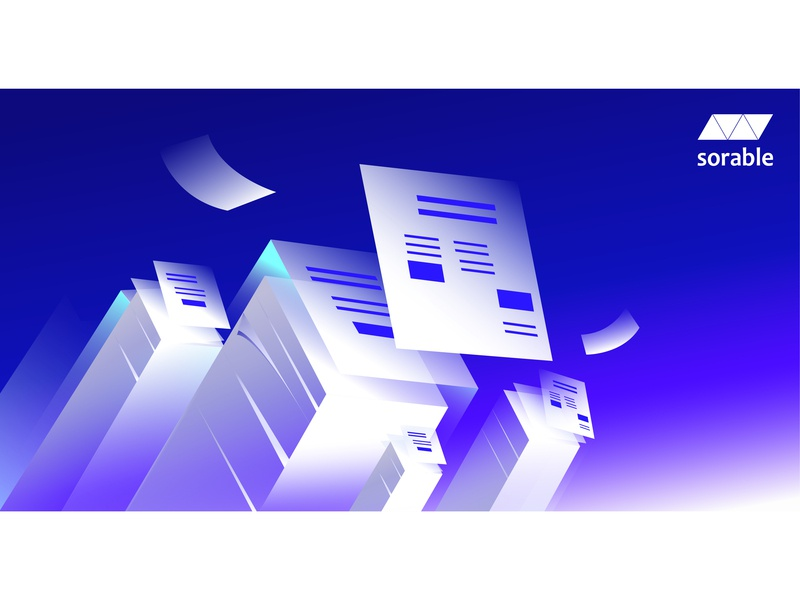 Paperless illustration digital paper art crm portal crm