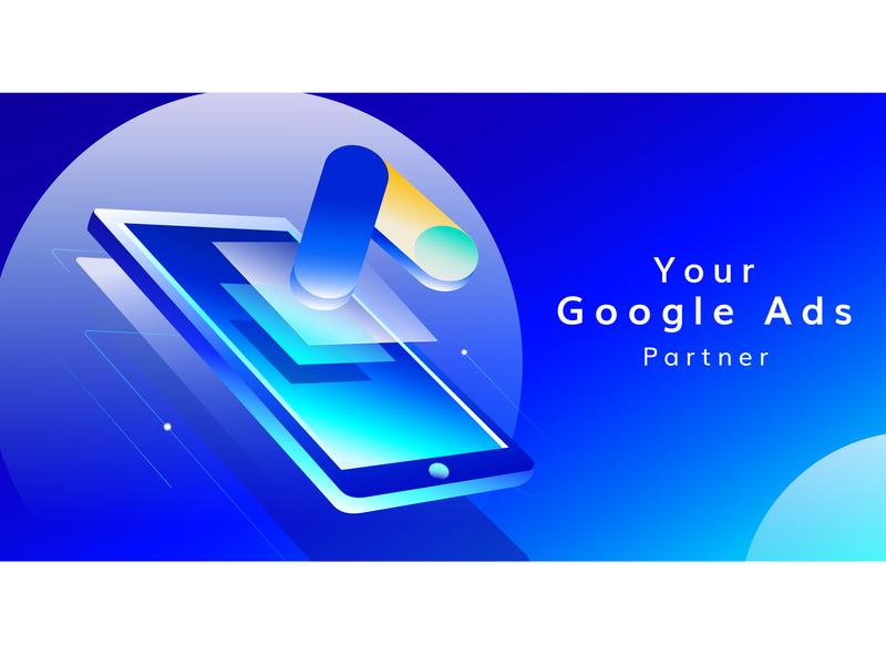 Google Ads Service digital ad design digital marketing agency branding digital digital marketing company google ad banner google google adwords google ads illustration digital marketing