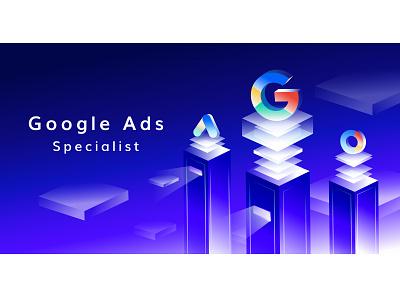 Google Ads Service design digital digital marketing company google google adwords google ads illustration digital marketing agency google ad banner digital marketing