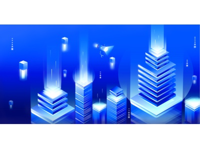 Data management - Sorable data collection data center data analysis illustration