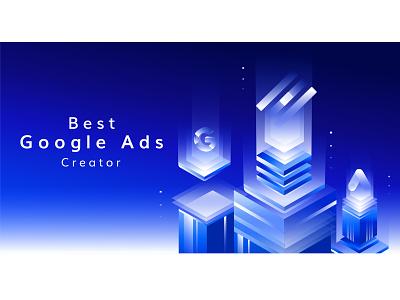 Google Ads Service design illustration google google ads google adwords google ad banner digital digital marketing agency digital marketing