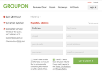 GROUPON register revision