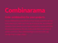 Combinarama Text FF004D Background 7E2553