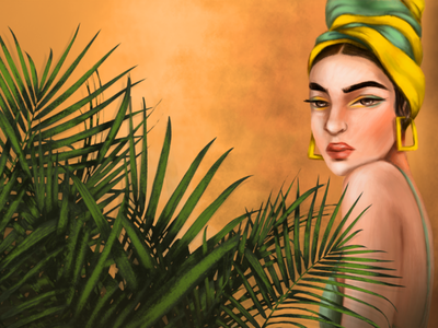 Belleza Latina digitalart photoshop