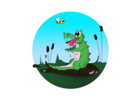 stupid crocodile