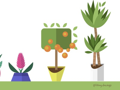 Plants (vector art) nature illustration nature plants illustratrice design illustrator illustrateur vector artwork vector adobe illustrator illustration