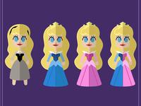 Disney Female Heroes outfit - Aurora