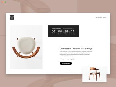 Furniture - Pre-order
