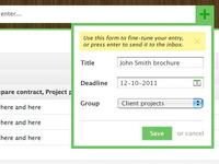 OffloadApp: form detail
