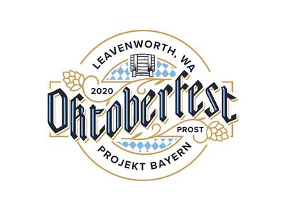 Oktoberfest Reject gothic blackletter keg branding brand hops beer reject logodesign logo