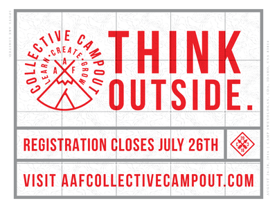 Collective Campout 2016 grow create learn spokane pnw lettering photography craft collective camp