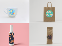 floral and leaf design applications