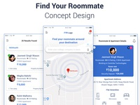 Find Your Roommate Concept Design