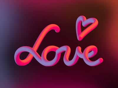 Dribbble Valentine's Day