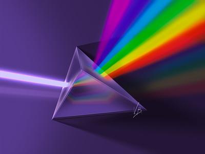 RGB Prism photoshop art photoshop drawing casual design