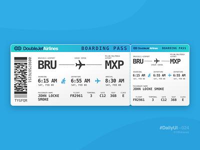DailyUI–024 vbakanas design sketchapp boarding pass ux 24 024 dailyui