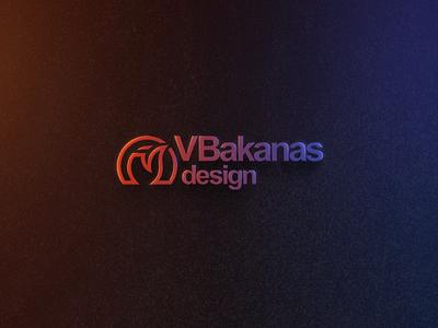VBakanas Logo Updated Branding vbakanas photoshop colorful colors logo design branding logo
