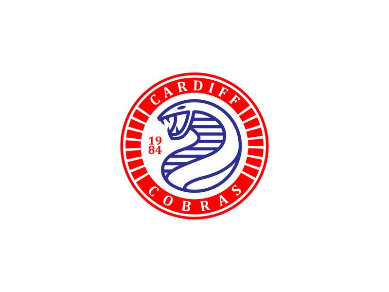 Football Club logo concept football logo brand animal cobra snake icon branding graphic design vector art illustration graphic design logo club football