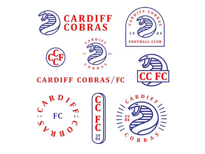 Football Club branding concept soccer brand typography icon branding graphic design vector art illustration graphic design logo club football
