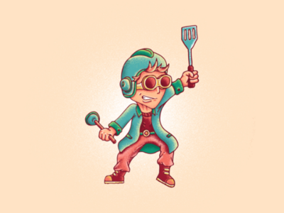All you need is imagination comic style art graphic design character design illustration