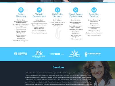 Crescendo Media crescendo web design responsive responsive web design branding web typography layout mockup photoshop illustrator wip