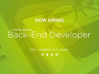 Backend Developer Wanted
