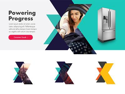 Website Style Tile ux ui moodboard pattern colorful appliance arrow style tiles mood board interactive web design