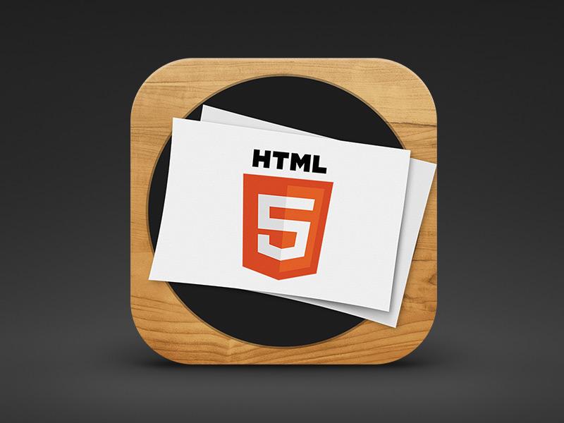 Hype Reflect icon redesign ios iphone ipad app html5 animation icon hype tumult apple ios7