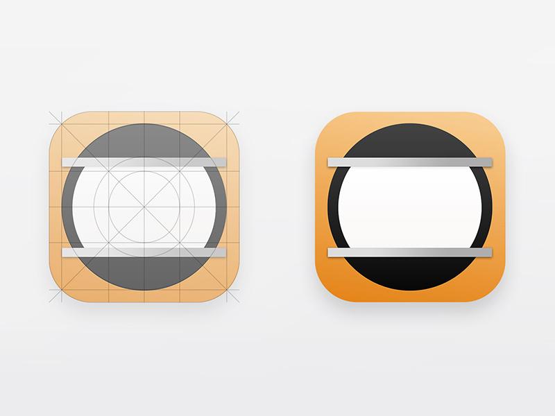 Hype Reflect iOS Icon Redesign application mobile html5 ios icon app