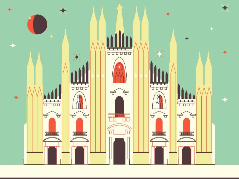 Milano, I'm back milan milano duomo italia night notte cathedral