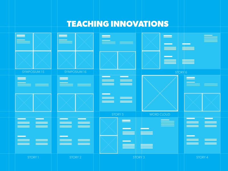 Wire-frame Blueprint storyboard blueprint wire-frame innovation teaching
