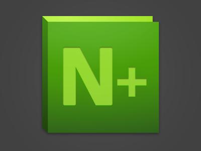 434343.com_Notepad++ Adobe style Icon by Karim Maassen on Dribbble