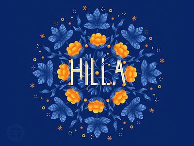 Hilla fruits fruit hilla berries cloudberry flat illustration graphic artist illustration graphic art