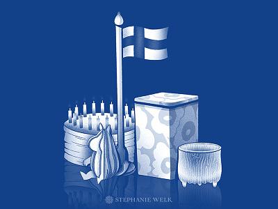 Design made in Finland items moomin flag glass finnish design iittala lovi marimekko finland illustration graphic art
