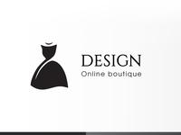 Black Dress Logo design